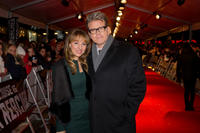 Heather McQuarrie and Christopher McQuarrie at the premiere of