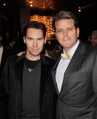Bryan Singer and Christopher McQuarrie at the afterparty premiere of