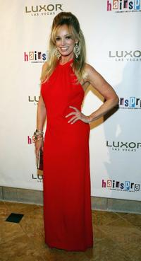 Susan Anton at the party after performing in the opening night show of