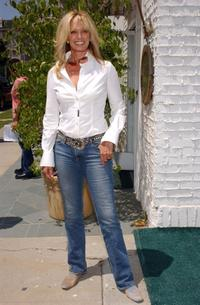 Susan Anton at the opening of