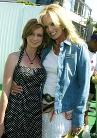 Susan Anton and her neice Katherine at the Los Angeles premiere of
