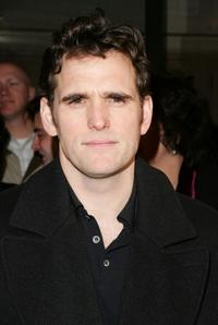 Matt Dillon at the opening night of
