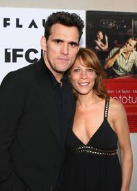 Matt Dillon and Lili Taylor at the special screening of