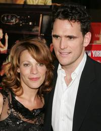 Matt Dillon and Lili Taylor at the premire of