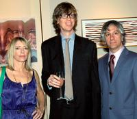 Kim Gordon, Thurston Moore and Lee Ranaldo at the Lower Manhattan Cultural Council's Downtown Dinner and Silent Art Auction.