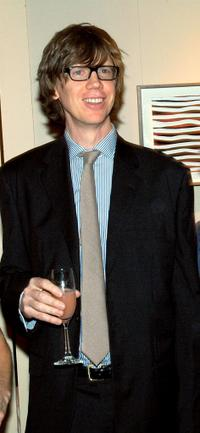 Thurston Moore at the Lower Manhattan Cultural Council's Downtown Dinner and Silent Art Auction.