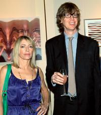 Kim Gordon and Thurston Moore at the Lower Manhattan Cultural Council's Downtown Dinner and Silent Art Auction.
