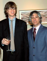 Thurston Moore and Lee Ranaldo at the Lower Manhattan Cultural Council's Downtown Dinner and Silent Art Auction.
