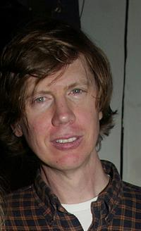 Thurston Moore at the after party of the New York premiere of