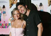 Amy Sedaris and Paul Dinello at the premiere of