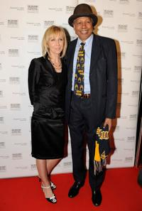 Sally Dingo and Ernie Dingo at the premiere of