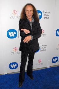 Ronnie James Dio at the Warner Music Group's 2007 Grammy Party.