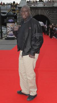 Mouss Diouf at the after party of the premiere of