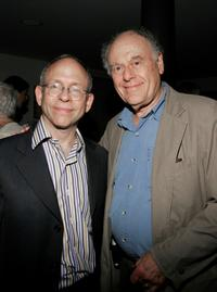Bob Dishy and Bob Balaban at the screening of