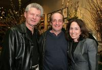 Meyer Gottlieb, David Paymer and Jody Savin at the screening of
