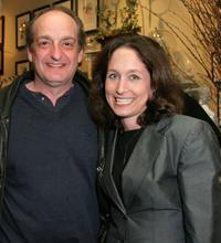 David Paymer and Jody Savin at the screening of