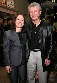 Jody Savin and Meyer Gottlieb at the screening of