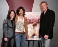 Jody Savin, Mary Steenburgen and Randall Miller at the screening of