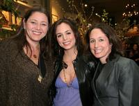 Camryn Manheim, Eliza Dushku and Jody Savin at the screening of