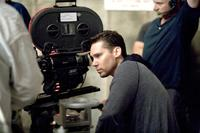 Director/Producer Bryan Singer on the set of