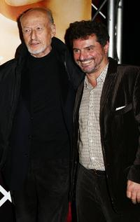 Vernon Dobtcheff and Director Pierre Salvadori at the premiere of