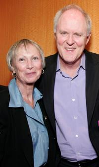 Kathryn Doby and John Lithgow at the AMPAS Great To Be Nominated Series screening of