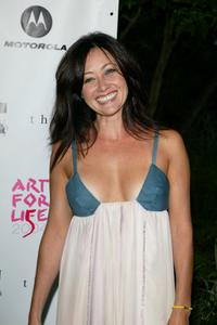Shannen Doherty at the 5th Annual Art For Life Benefit.