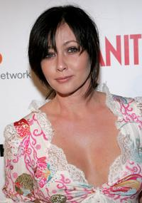 Shannen Doherty at the Alanis Morissette concert to benefit Step Up Women's Network.