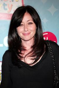 Shannen Doherty at the LG's Mobile TV Party.