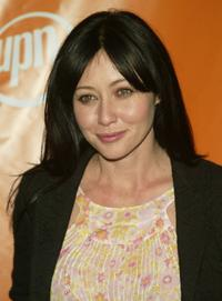 Shannen Doherty at the UPN network upfront.