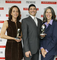 Mary Zophres, Phillip Bloch and Deborah Nadoolman Landis at the Timeless Style Awards.