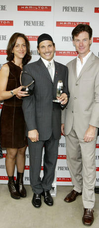 Mary Zophres, Phillip Bloch and Paul Turcotte at the Timeless Style Awards.