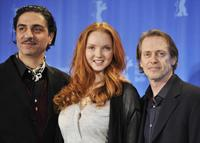 Simon Abkarian, Lily Cole and Steve Buscemi at the 59th Berlin Film Festival.