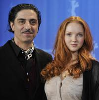 Simon Abkarian and Lily Cole at the 59th Berlin Film Festival.