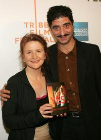 Sally Potter and Simon Abkarian at the screening of