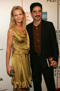 Joan Allen and Simon Abkarian at the screening of