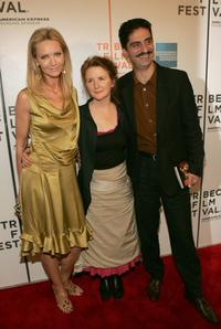 Joan Allen, Sally Potter and Simon Abkarian at the screening of