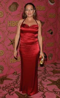 Sharon Angela at the HBO Post Emmy party.