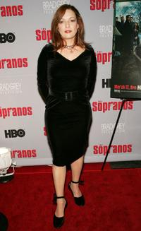 Sharon Angela at the season premiere of