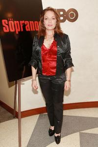 Sharon Angela at the screening of