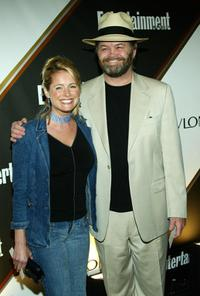 Ami Dolenz and Mickey Dolenz at the Entertainment Weekly Emmy Pre-Party.