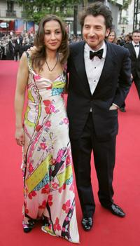 Edouard Baer and Guest at the 58th edition of the International Cannes Film Festival.