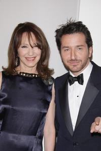 Nathalie Baye and Edouard Baer at the Cesar Film Awards 2008.