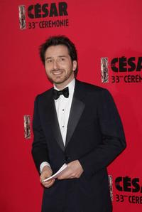 Edouard Baer at the Cesar Film Awards 2008.