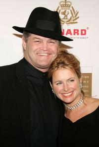 Micky Dolenz and Ami Dolenz at the 14th Annual Britannia Awards.
