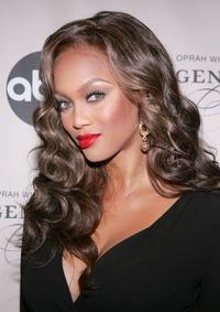 Tyra Banks at the screening of