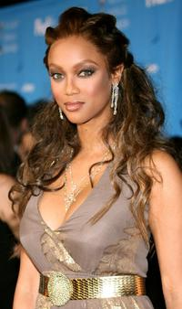 Tyra Banks at the 37th Annual NAACP Image Awards.