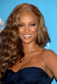 Tyra Banks at the 38th annual NAACP Image Awards.