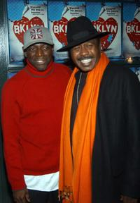 Hinton Battle and Ben Vereen at the after party of the opening night of