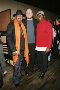 Ben Vereen, Rupert Holmes and Hinton Battle at the after party of the opening night of